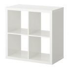 کتابخانه 2x2 سفید براق ایکیا KALLAX