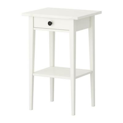 پاتختی / میز سفید ایکیا HEMNES