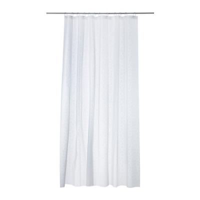 پرده حمام سفید ایکیا INNAREN