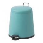 سطل زباله آبی فیروزه ای پدال دار ایکیا SNAPP