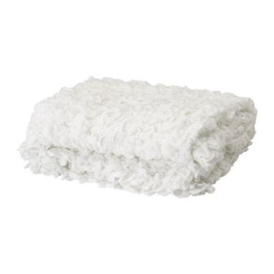 روانداز سفید 170x130 ایکیا  OFELIA