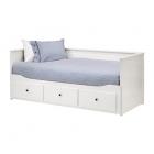 کاناپه تخت خوابشو 211×168 سفید ایکیا HEMNES