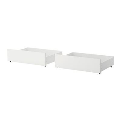 کشوی سفید تخت ایکیا MALM