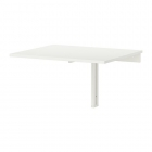 میز تاشو دیواری سفید ایکیا NORBERG