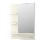 آینه سفید شلف دار ایکیا LILLANGEN