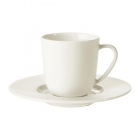 فنجان و نعلبکی 70 سی سی سفید ایکیا OFANTLIGT