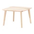 میز عسلی 70x70 ایکیا LISABO