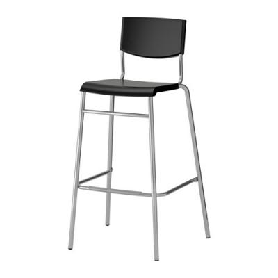 صندلی 74 سانت بار مشکی ایکیا STIG
