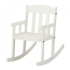 صندلی راکینگ سفید کودک ایکیا SUNDVIK