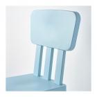 صندلی پلاستیکی کودک آبی ایکیا MAMMUT