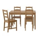 میز و صندلی غذاخوری 4 نفره چوبی ایکیا JOKKMOKK