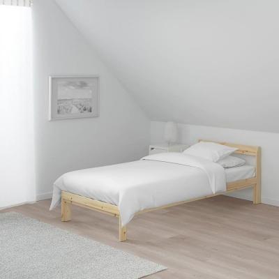تخت یکنفره خودرنگ چوبی ایکیاneiden