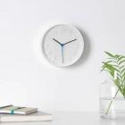 ساعت دیواری سفید ایکیا STOMMA