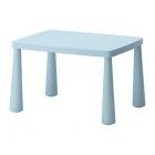 میز پلاستیکی کودک آبی ایکیا MAMMUT