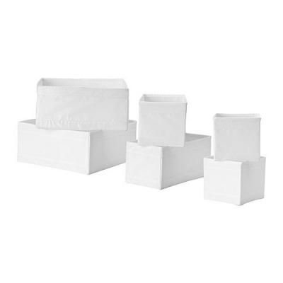 باکس سفید شش تایی Skubb
